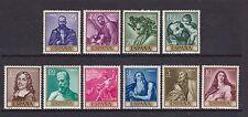 España-SG 1559/68 - U/M - 1963-Día del sello-RIBERA PINTURAS