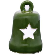 Harley-Davidson® Green & White Star Military Motorcycle Ride Bell HRB076