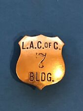 Vintage Los Angeles Chamber Of Commerce Building Badge