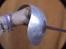 "Vintage saber aluminum guard wrapped handle slight tarnish 34"" AFS Italian"