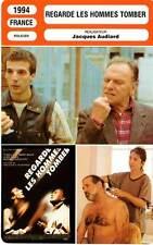 FICHE CINEMA : REGARDE LES HOMMES TOMBER - Trintignant,Yanne,Audiard 1994