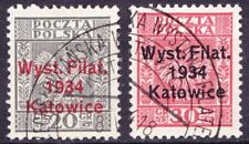 (PL) Poland Polen Fi 264 - 265 used expertised by Walocha