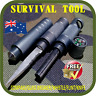 PROFESSIONAL SURVIVAL TOOL TACTICAL MULTIFUNCTIONAL SELF DEFENSE KNIFE-FLINT-AU