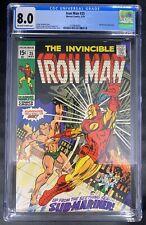 Iron Man #25 CGC 8.0  5/70 2109846001 - Sub-Mariner appearance