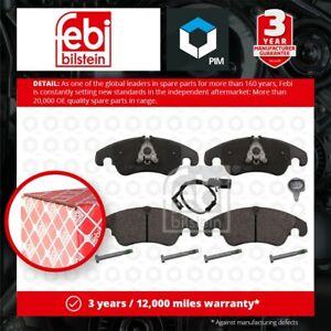 Brake Pads Set fits AUDI A6 4G, 4G C7 Front 10 to 18 4G0698151 4G0698151AA Febi