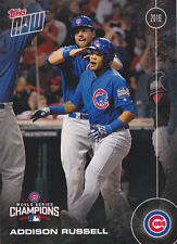 2016 TOPPS NOW WS6 Addison Russell CHICAGO CUBS World Series Champions SET Break