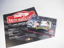 1/43 Diecast AUDI QUATTRO SPORT Rallye Monte Carlo RÖHRL1985 ALTAYA + Booklet