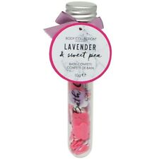 Lavender & Sweet Pea Bath Confetti Flowers Christmas Stocking Filler Gift Womens