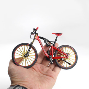 Toy Alloy Bicycle Model Mountain bike Racing Toy Bend Road Simulation Collection