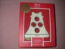 Lenox 2014 Jolly Jingle Bell Ornament New in Box w/Tag