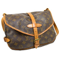 LOUIS VUITTON SAUMUR 30 MESSENGER SHOULDER BAG MONOGRAM M42256 AR0961 32107
