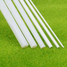 Stock 10x ABS Styrene Plastic Round Bar Rod Dia 5mm length 9.8