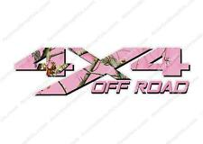 4x4 OFF ROAD Camouflage PINK Camo Hunting TRUCK Decal Sticker! CHEVY DODGE FORD