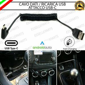 CAVO USB ELASTICO ESTENDIBILE USB-C TOYOTA LAND CRUISER (KDJ 95) RICARICA RAPIDA