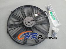 "16""12V Universal Electric Radiator RACING COOLING Fan + mounting kit 16 inch"