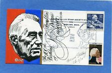 SC #1950 Franklin D. Roosevelt Goldberg Hand Painted Cachet First Day Cover