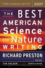 NEW - The Best American Science and Nature Writing 2007