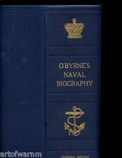 NAVAL BIOGRAPHICAL DICTIONARY -  life and services of every living RN officer,