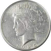 1925 Peace Dollar XF EF Extremely Fine 90% Silver $1 US Coin Collectible