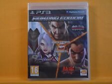 ps3 FIGHTING EDITION Tekken 6 + Tag Tournament 2 + Soul Calibur V 5 NEW & Sealed