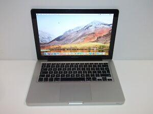 "Apple MacBook Pro 13.3"" 2.4GHz Dual Core 4GB RAM 500GB HDD Mid 2010 - Silver"