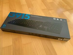 LOGITECH G915 LIGHTSPEED RGB Wireless Mechanical Gaming Keyboard : NEW SEALED