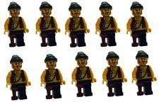 LEGO 10x Pirata con pierna verde oscuro Pañuelo de cabeza pi110 MINIFIGURA NUEVO