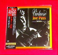 Joe Pass Virtuoso Solo Guitar MINI LP CD JAPAN UCCO-9300