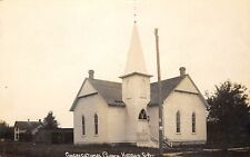 Hudson SD~Congregational Church~Stable~House~We've Seen All the Sights~1911 RPPC