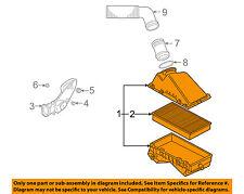 VW VOLKSWAGEN OEM 99-05 Jetta Air Cleaner Intake-Filter Box Housing 1J0129607BP