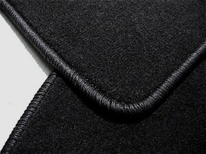 Black Velours Floormats for Ferrari 328 GTB 1985-1989