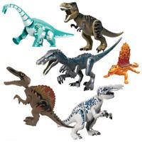 Jurassic World Dinosaur Figure New Velociraptor Action Model Toy Gifts Kids