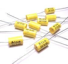 10x Capacitor 0.022uF 22nF 5% 630V DC Polypropylene Axial Valve Metal Film