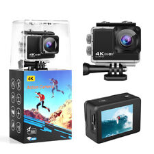 EIS 4K HD 24MP Sports Action Camera Underwater Wifi DV Camcorders WiFi W/APP