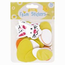 Easter Foam Stickers - 30 Pack , different Easter themed stickers