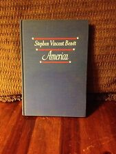 AMERICA by STEPHEN VINCENT BENET - 1st edition, 1944 Hardcover
