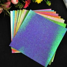 50 Sheets Glitter Foam Paper Flash Gold Handcraft Papers Sparkles Children Craft