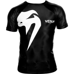 Venum Giant Short Sleeve Compression Rashguard - Black