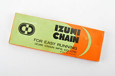 """NEW Izumi Chain 1/2inch X 3/32"""" for 5/6-speed from the 1980s NOS/NIB"""