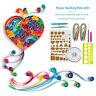 9Pcs Starter Quilling Paper Art Kits Cork DIY Workboard Slotted Tools Set