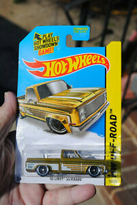 Hotwheels 1983 Chevy Silverado Truck Super Treasure Hunt Look!!!
