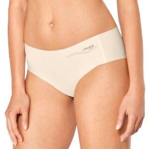 New Women's SLOGGI Beige Zero Feel Hipster Panty size L