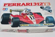 Tamiya Ferrari 312T3 Grand Prix F-1 Model Kit 1:20 Race Car Complete Open Box