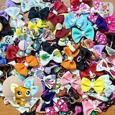Littlest Pet Shop LPS 5 Pc Random Bows Accessories Lot Clothes Read Description