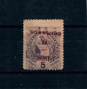 Guatemala 1898 Sc#77 Inverted Overprint Considered Counterfeit Rare