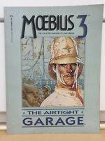 MOEBIUS 3 THE AIRTIGHT GARAGE Graphic Novel Marvel/Epic Fine+ Rare OOP