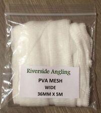 PVA Mesh Refil 15mm, 25mm, 36mm x 5M Stocking Carp Boilie Bait Bags