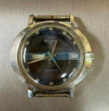 *Vintage Bulova President 23J Day/Date Automatic Watch 11AOACB Free Shipping