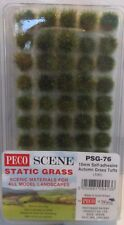 Peco PSG-76 - Static Grass 10mm Self Adhesive Autumn Grass Tufts - 1st Post
