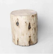 Project 62 Wood Stump Indoor/Outdoor Accent Table - Natural